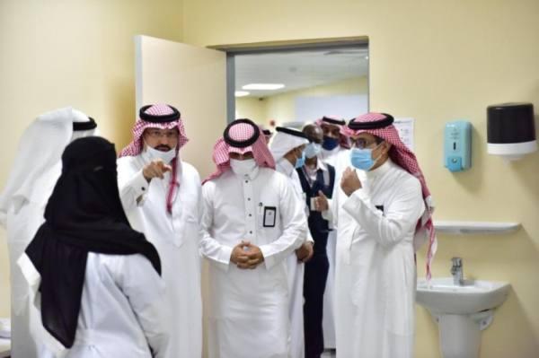 تركي بن طلال يقف على سير الخدمات التنموية بمحافظة النماص