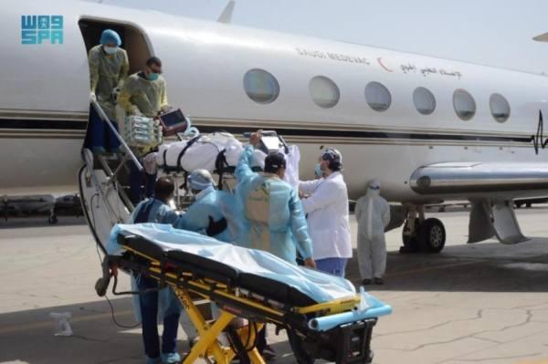 نقل مواطن مصاب بكورونا جواً من الأردن للمملكة