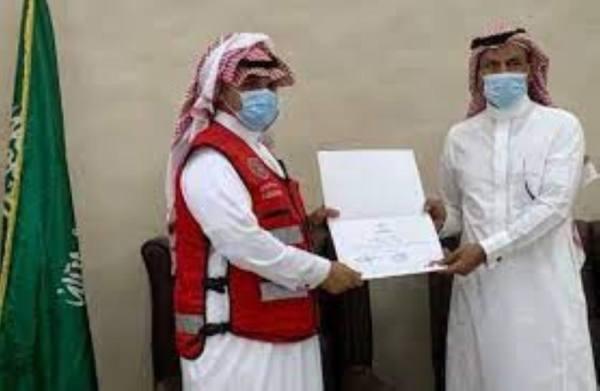 هلال تبوك يكرم متطوعي ومتطوعات المنطقة