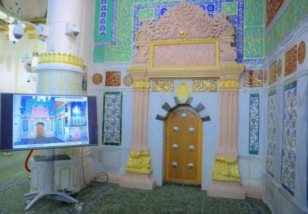 السديس يدشن مشروع سبيل زمزم بالمسجد النبوي وتحسين مدخل الباب القبلي