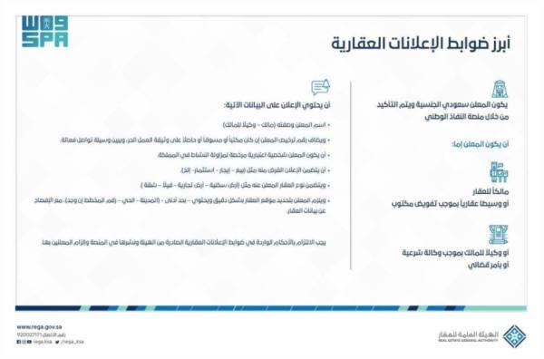 ضوابط جديدة لتعزيز موثوقية الإعلانات العقارية وترخيص المنصات