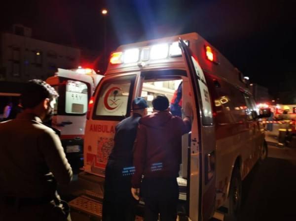 3840 حالة إسعافية باشرها هلال الطائف خلال مايو