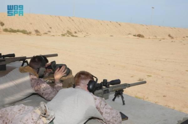 اختتام مناورات التمرين العسكري بين البحرية السعودية والأمريكية