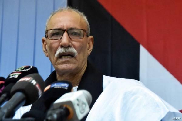 زعيم جبهة بوليساريو يعود إلى الجزائر