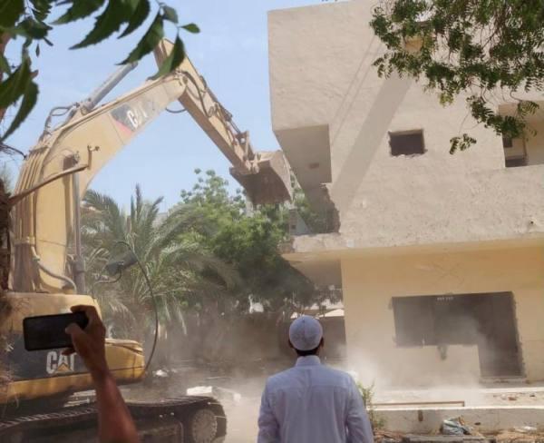 أمانة جدة تستعيد أرضاً حكومية مخصصة كحديقة بحي السلامة