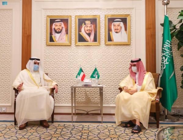 وزيرا خارجية المملكة والكويت يؤكدان تعزيز العمل المشترك