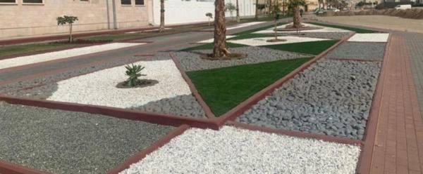 أمانة العاصمة المقدسة تواصل أعمال تأهيل الحدائق العامة