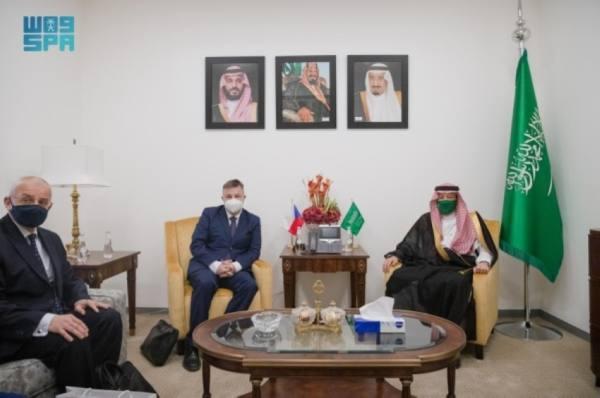 نائب وزير الخارجية يستعرض مع نظيره التشيكي أوجه التعاون الثنائي