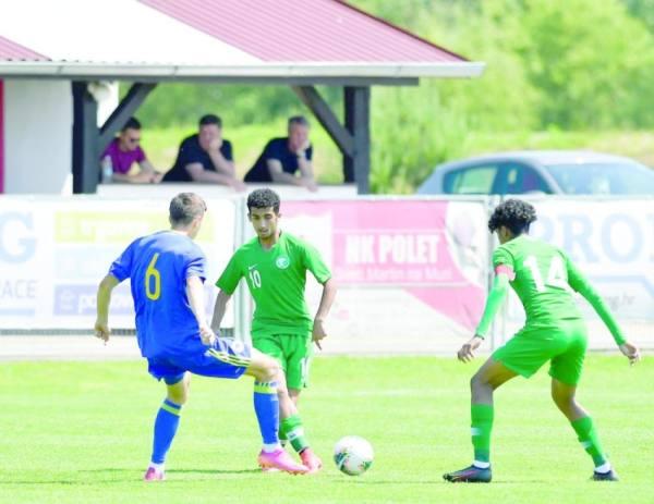 الأخضر الشاب يكسب البوسنة في دورة كرواتيا
