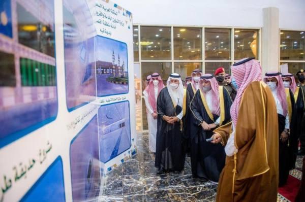 أمير القصيم يدشن 9 مشروعات تنموية بمحافظة الأسياح