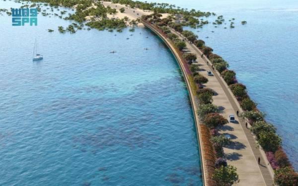 شركة البحر الأحمر تتعاقد على تشييد جسر يصل لجزيرة شُريرة ضمن مشروعاتها