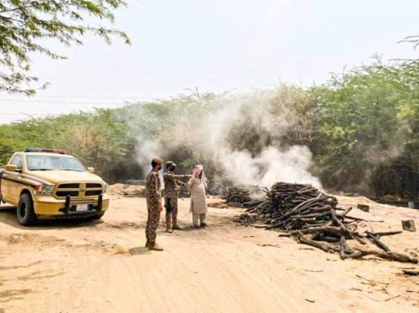 ضبط 3 مخالفين لنظام البيئة جنوب محافظة جدة