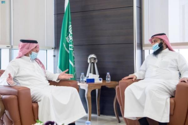 رئيس وأعضاء «بلدي الرياض» يزورون «واس»