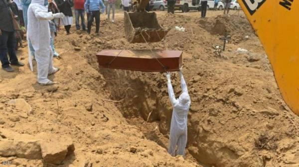 الهند : أعلى عدد وفيات بكورونا عالميا في يوم واحد