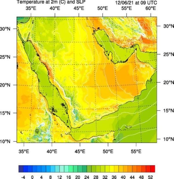 ارتفاع ملموس في درجات الحرارة على منطقتي المدينة المنورة ومكة المكرمة