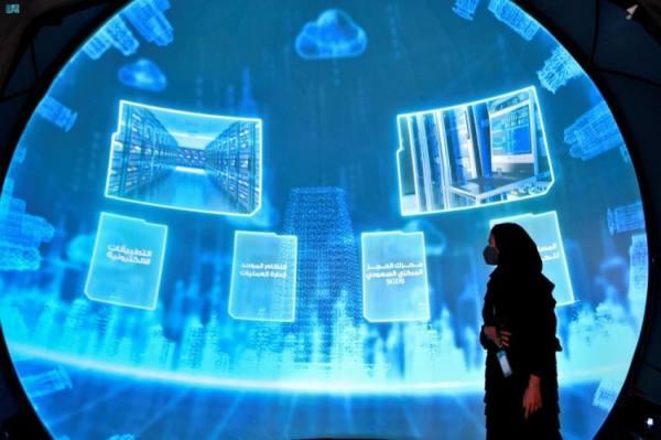 قبة جدة تستقبل زوار معرض مشاريع مكة الرقمي بـ 100 مشروع تنموي
