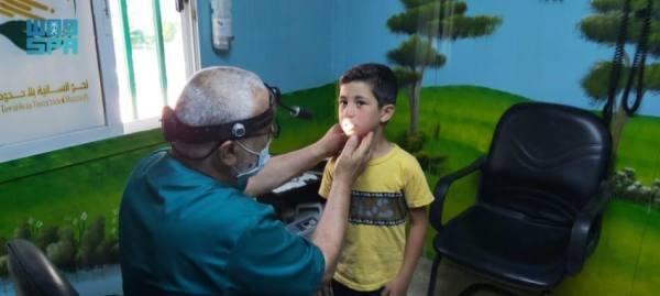 سلمان للإغاثة تواصل تقديم خدماتها الطبية في مخيم الزعتري بالأردن
