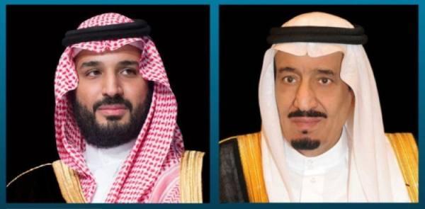 القيادة تعزي أمير الكويت في وفاة الشيخ منصور الأحمد