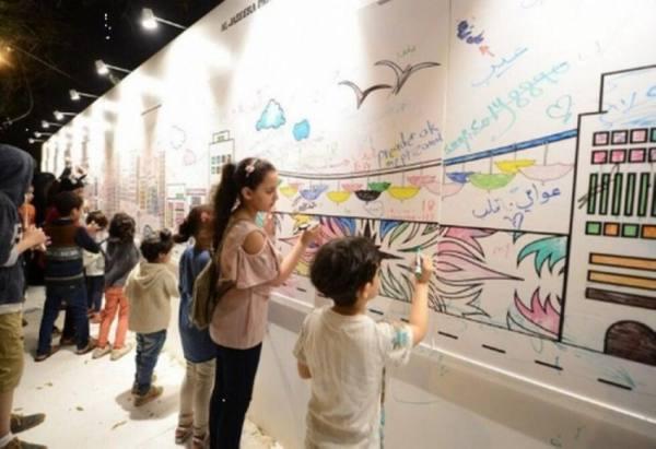 «شارع الفن» في أبها.. متحف مفتوح للترفيه والابداع