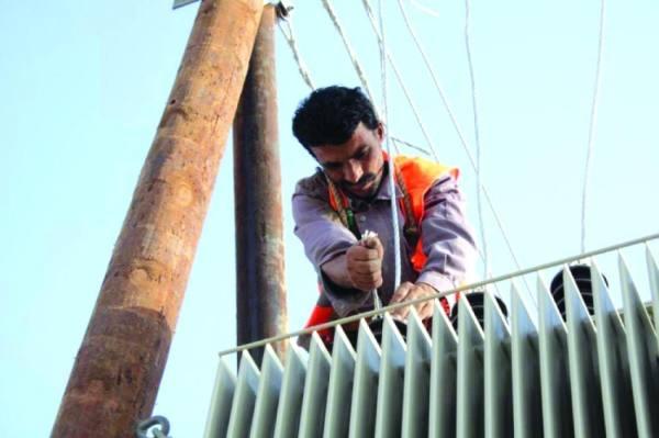 تحسين الشبكة الكهربائية في مأرب