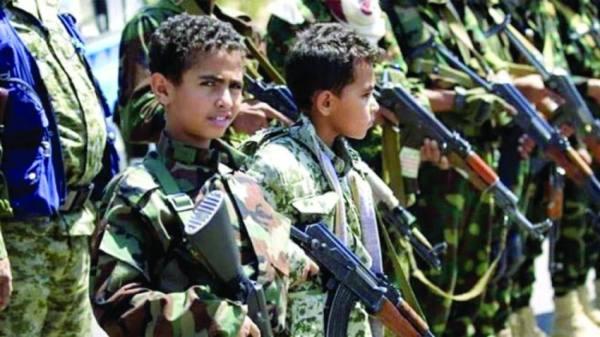 الحوثي يواصل تجنيد الأطفال