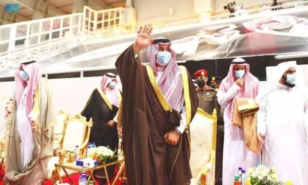 أمير حائل يرعى حفل صعود نادي الطائي لدوري المحترفين