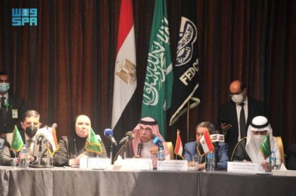 القصبي: تحفيز القطاع الخاص لتعزيز التبادل التجاري السعودي المصري
