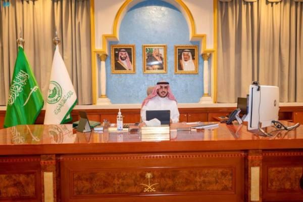 أمير الجوف يرأس اجتماعاً تعريفياً عن مجالس التنمية السياحية واستراتيجياتها الجديدة
