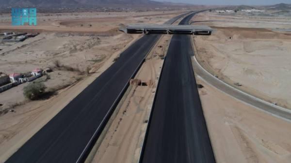 وزارة النقل تواصل أعمال مشروع طريق جدة - مكة