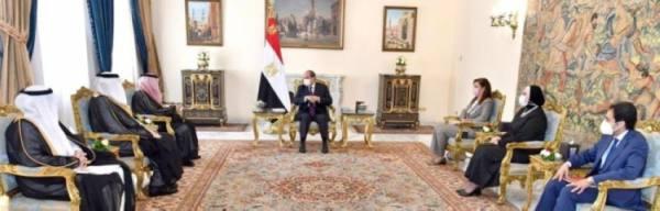 الرئيس المصري: قوى الإرهاب والتطرف لا تستطيع قيادة الدول