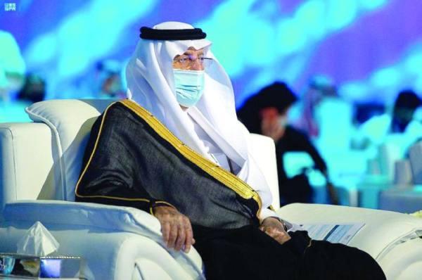 الفيصل خلال مشاركته في الجلسة