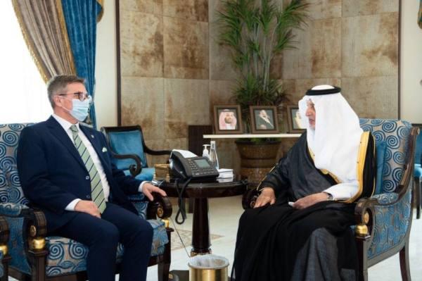 الفيصل يستقبل سفير كوسوفا لدى المملكة
