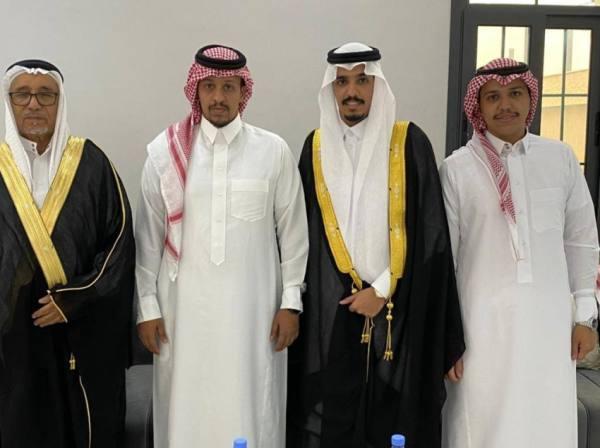 آحمد آل محيميد يحتفل بزواج ابنه محمد