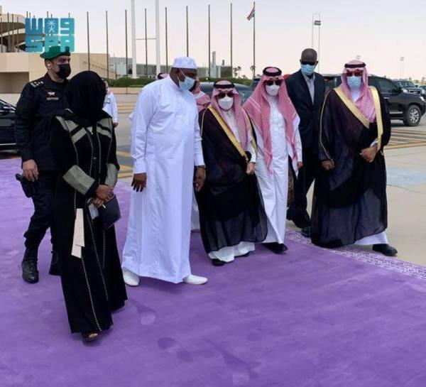 رئيس جمهورية جامبيا يغادر الرياض
