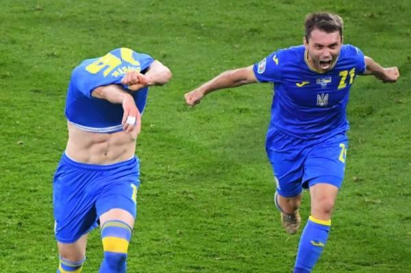 أوكرانيا الى ربع النهائي بهدف قاتل في مرمى السويد
