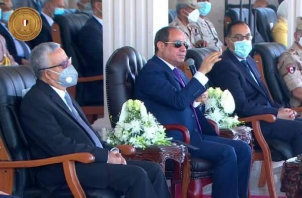 الرئيس المصري : علاج الطفل الواحد من