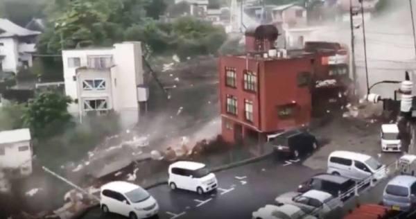19 مفقودا جراء أمطار غزيرة في اليابان