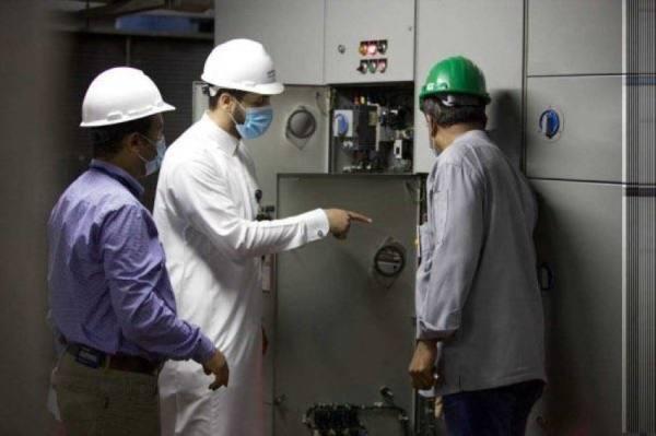التأكد من جاهزية كهرباء المسجد الحرام استعداداً لموسم الحج