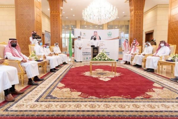 أمير  الباحة يطلق استراتيجية تمكين العمل التطوعي لجمعية