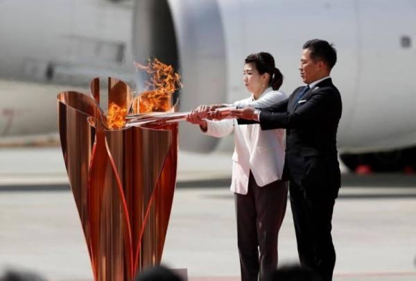 إلغاء مسيرة الشعلة الأولمبية على الطرق العامة بطوكيو
