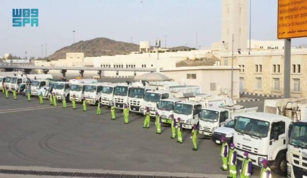 أمانة مكة تجنّد أكثر من 15 ألف موظف وعامل لتنفيذ خطتها للحج