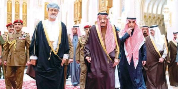 المملكة أول محطة خارجية لسلطان عمان