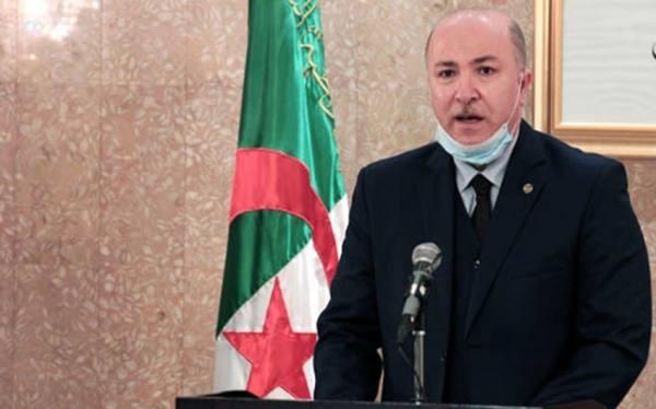 إصابة رئيس الوزراء الجزائري بكورونا