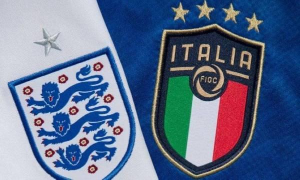 موقعة إنجلترا وإيطاليا في نهائي كأس أوروبا