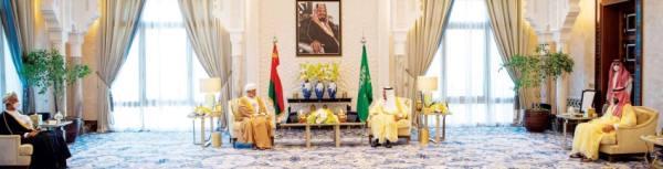 تعزيز التعاون المشترك.. في جلسة مباحثات سعودية عمانية