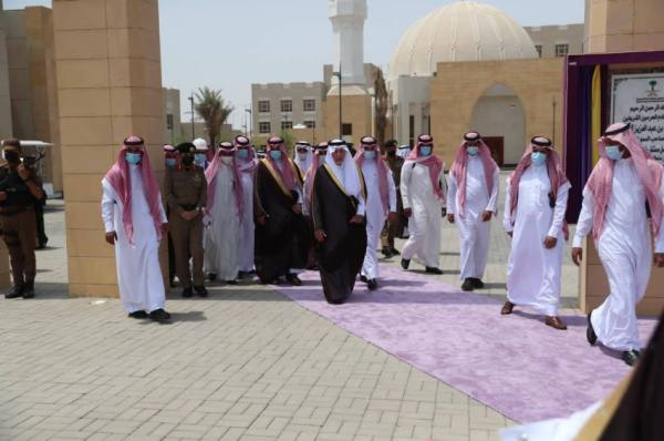 أمير منطقة مكة المكرمة يدشن مشروع مركز الضبط الأمني بالشميسي