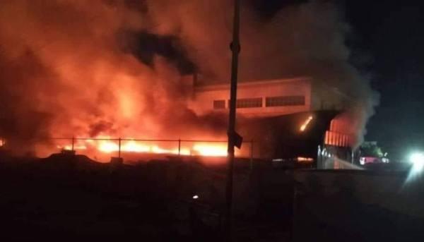 مقتل 36 شخصاً في حريق اندلع بمستشفى جنوبي العراق