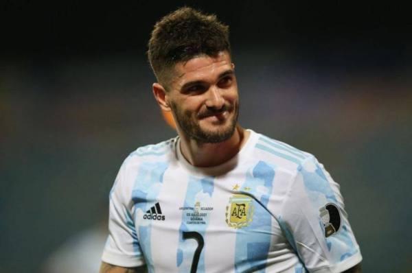 أتلتيكو مدريد يعلن تعاقده مع الأرجنتيني دي بول