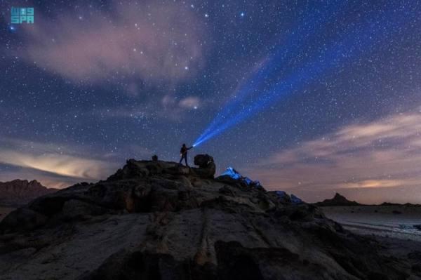 أرض المملكة موطن رحب لرصد النجوم والمجرات