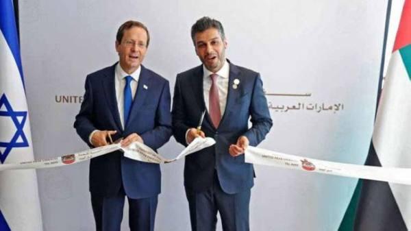 الإمارات تفتتح رسميا سفارتها لدى تل أبيب